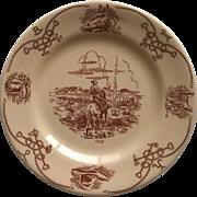 Shenango Round Up Bread Plate