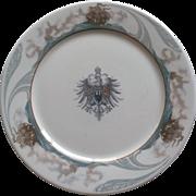 Vintage Hotel La Salle Dinner Plate by Lamberton China