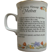 "Papel ""A Loving Message to Mother"" Mug"