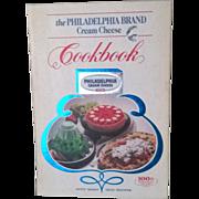 Vintage Philadelphia Brand Cream Cheese Cookbook
