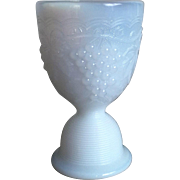 Imperial Milk Glass Grape Egg Cup