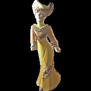 Nippon Yoko Boeki Victorian Lady Figurine