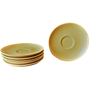 Iroquois Casual Lemon Saucers by Russel Wright