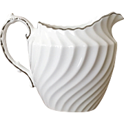 Aynsley China Purity Creamer