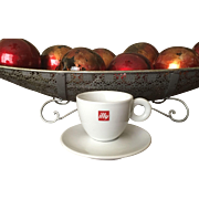 Illy Cappuccino Cup & Saucer Set