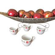 Illy Espresso Cup Set