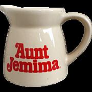 Vintage Aunt Jemima Syrup Pitcher