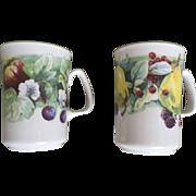 Rose of England Fine Bone China Fruit Mug