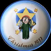 Hummel 1977 Christmas Plate