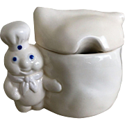 Pillsbury Doughboy Covered Sugar Bowl
