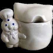 Pillsbury Doughboy Covered Sugar Bowl