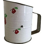 Bromwell's Flour Sifter Apples