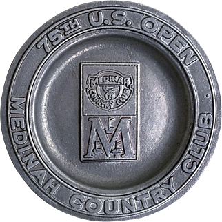 75th U.S. Open Golf Championship Plate Medinah