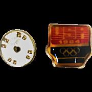 1984 USA Olympic Pin Los Angeles