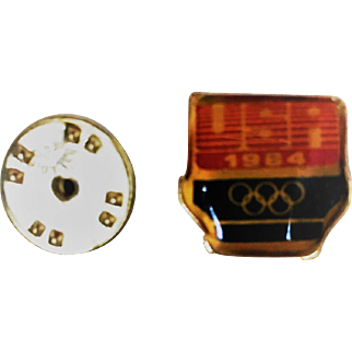1984 USA Olympic Pin Los Angeles