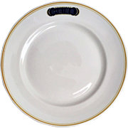 Hull Hotels of Los Angeles Restaurant Ware Plate