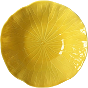 Metlox Poppytrail Lotus Bright Yellow Vegetable Bowl