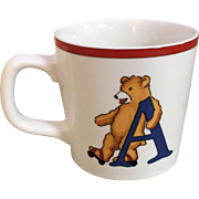 Tiffany ABC Bear Cup 1994