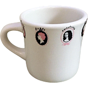 Sterling China Women's Cameo Mug