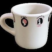 Sterling China Women's Cameo Mug
