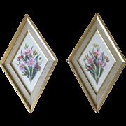 Franklin Framed Floral Prints 9037