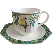 Villeroy & Boch Amazonia Cup and Saucer