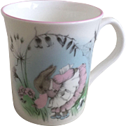 Elizabethan China Mrs. Rabbit Children's Mug