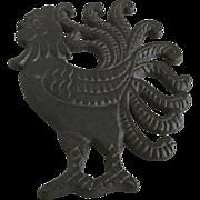 Wilton Cast Iron Rooster Trivet