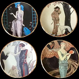 Fitz & Floyd Fashion Plate Set