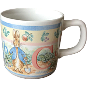 Peter Rabbit ABC Wedgwood Children's Mug