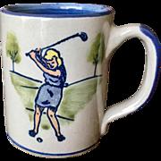 Louisville Stonware Golf Mug I.W.G.A. 1986