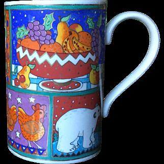 Dunoon Winter Wonderland Jane Brookshaw Mug
