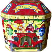 M&M's 1997 Firehouse 6 Confectioners Tin