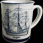 Bruce E Hart Frigate Mug