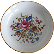 Royal Worcester 1982 Happy Holidays Pin Dish