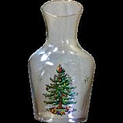 Spode Christmas Tree Carafe and Glass Set