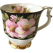 Royal Albert Provincial Flowers Alberta Rose Footed Cup