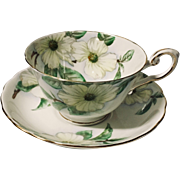Royal Tuscan Dogwood Cup & Saucer C9790