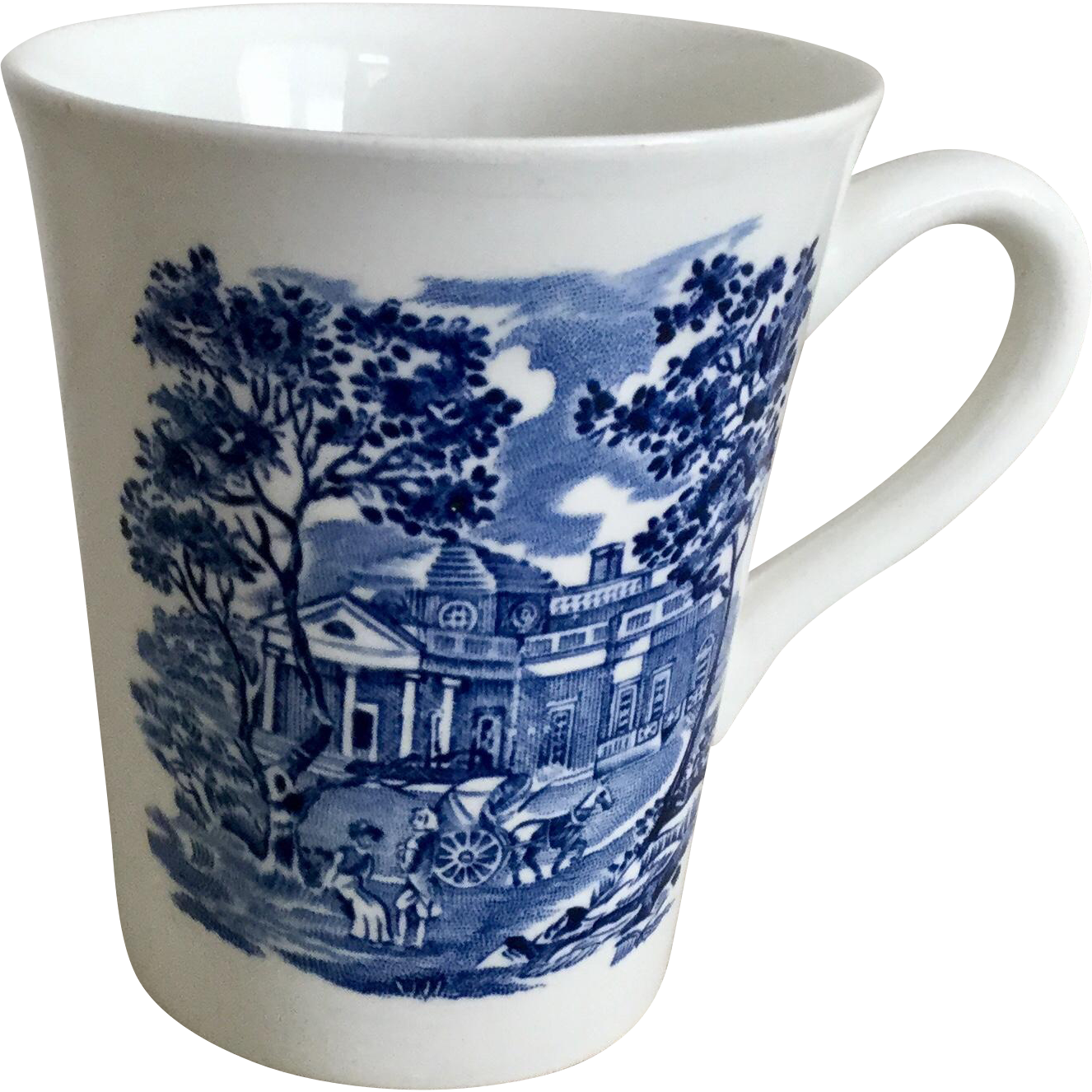 Staffordshire Liberty Blue Mug