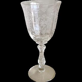 Fostoria Navarre Clear Water Goblet
