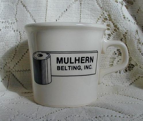 Taylor Smith Taylor Mulhern Belting Advertising Mug