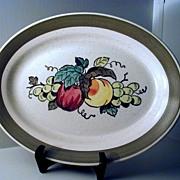 Metlox Provincial Fruit Oval Platter