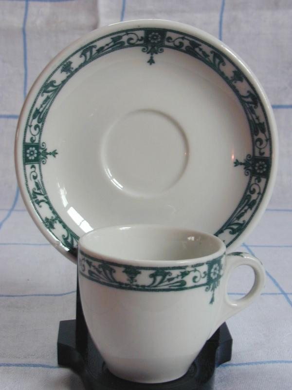 McNicol China Carlton Demi Cup & Saucer