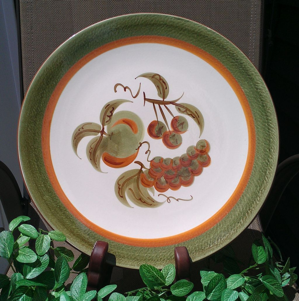 Stangl Orchard Song Platter Chop Plate