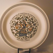 Twelve Days of Christmas Plate