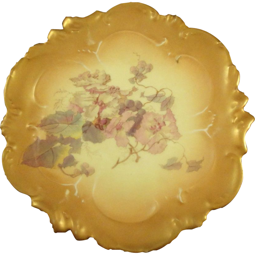 A. Lanternier Limoges  Plate