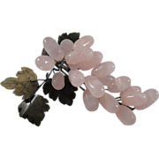 Rose Quartz Grape Cluster