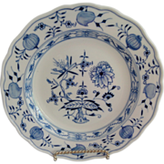 Meissen Blue Onion Dessert or Salad Plate