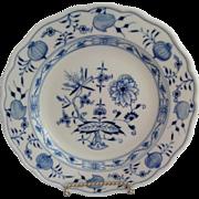 Meissen Blue Onion Dessert or Salad Plate
