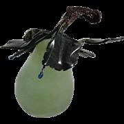 Vintage Jade Pear